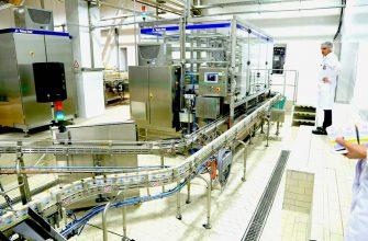 Министру понравилась продукция новгородского молокозавода