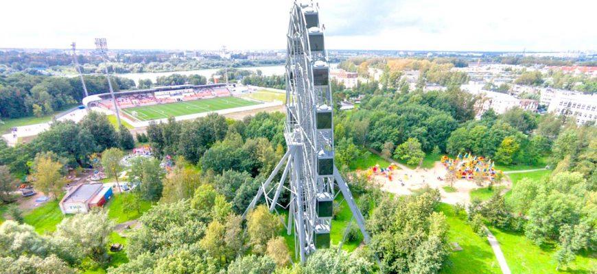 Парки Великого Новгорода